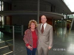 Dorle Metz mit Michael Hartmann